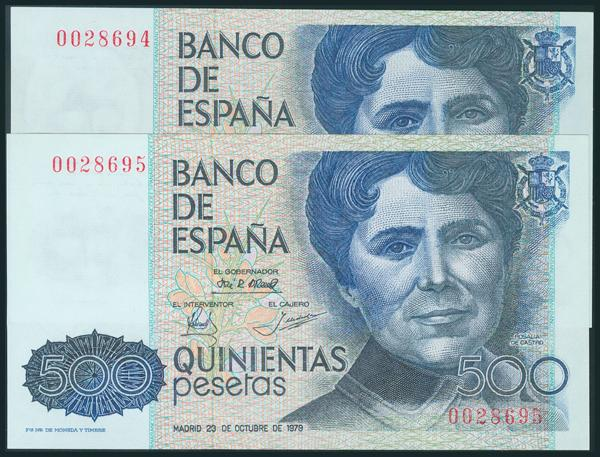 424 - Billetes Españoles
