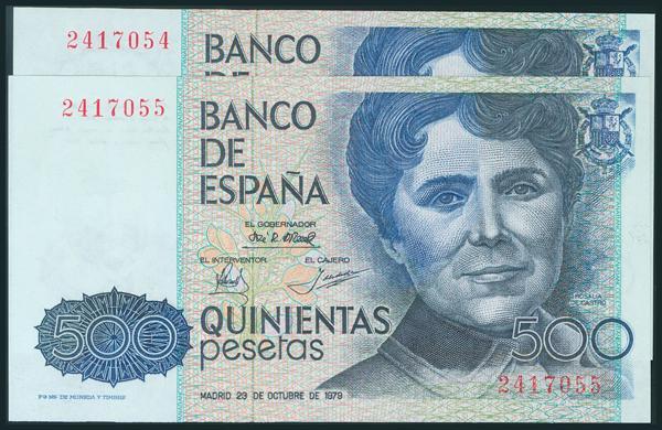 425 - Billetes Españoles