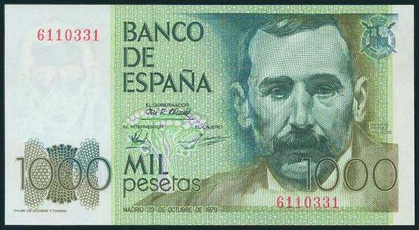 430 - Billetes Españoles
