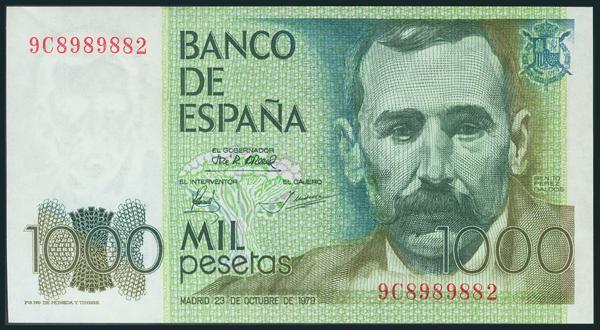 434 - Billetes Españoles