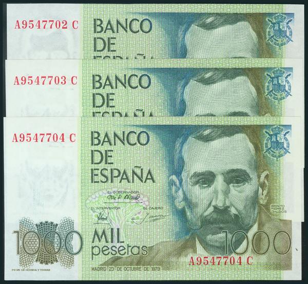 436 - Billetes Españoles
