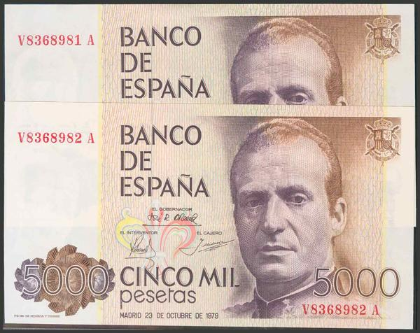 447 - Billetes Españoles