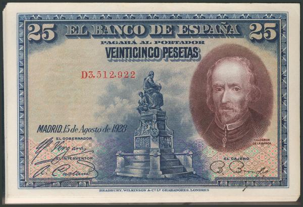 52 - Billetes Españoles