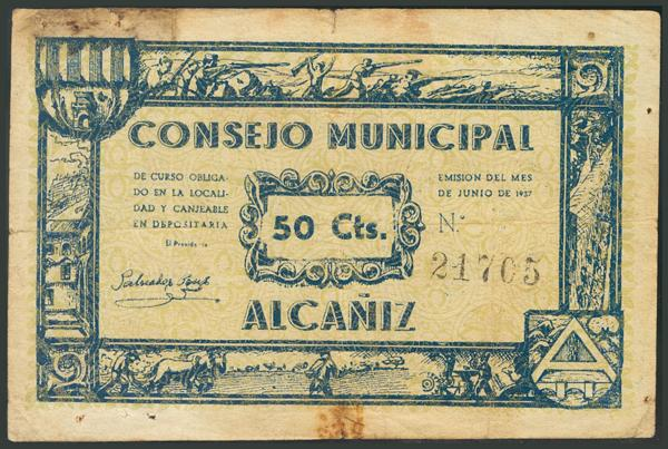 532 - Billetes Guerra Civil