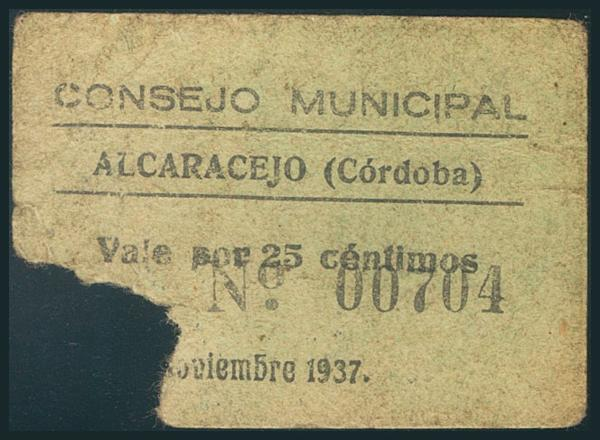 534 - Billetes Guerra Civil