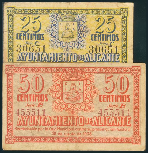 536 - Billetes Guerra Civil