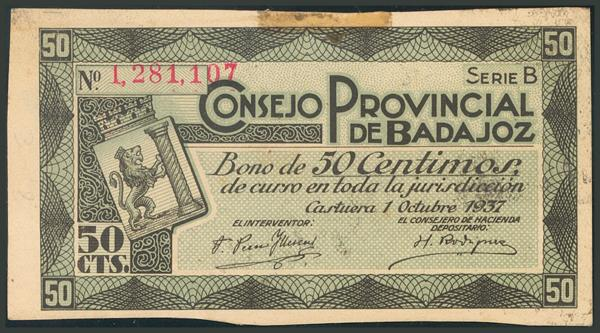 537 - Billetes Guerra Civil