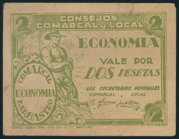 539 - Billetes Guerra Civil