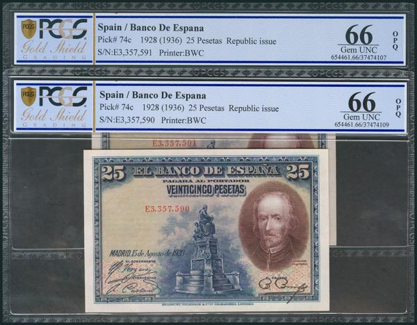 53 - Billetes Españoles