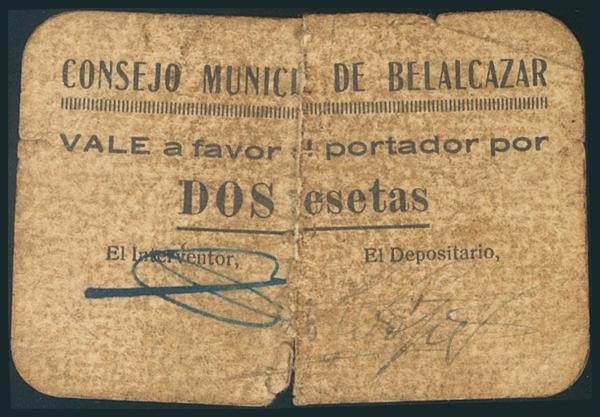 540 - Billetes Guerra Civil