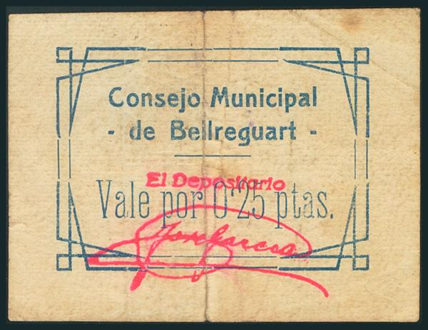541 - Billetes Guerra Civil