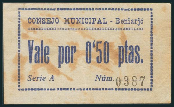 542 - Billetes Guerra Civil