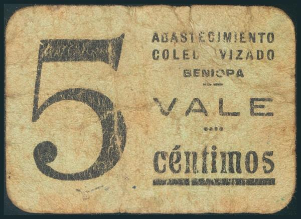 545 - Billetes Guerra Civil