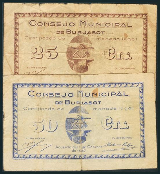 548 - Billetes Guerra Civil