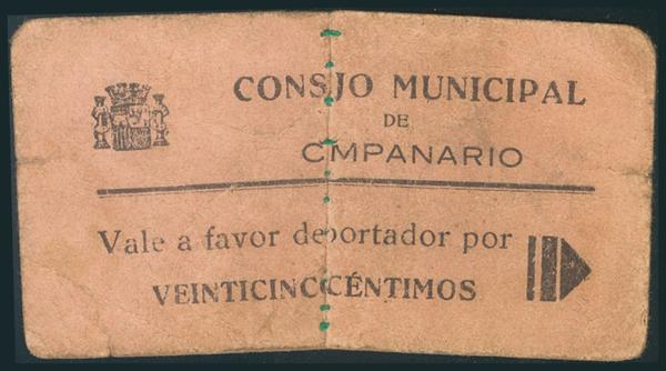 549 - Billetes Guerra Civil