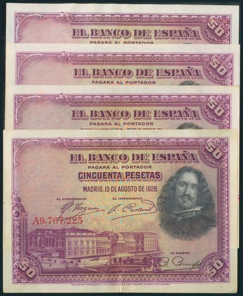 54 - Billetes Españoles
