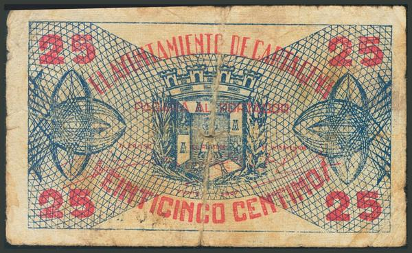 550 - Billetes Guerra Civil
