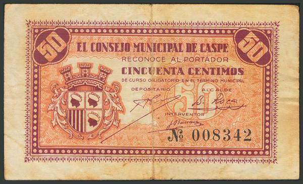 552 - Billetes Guerra Civil