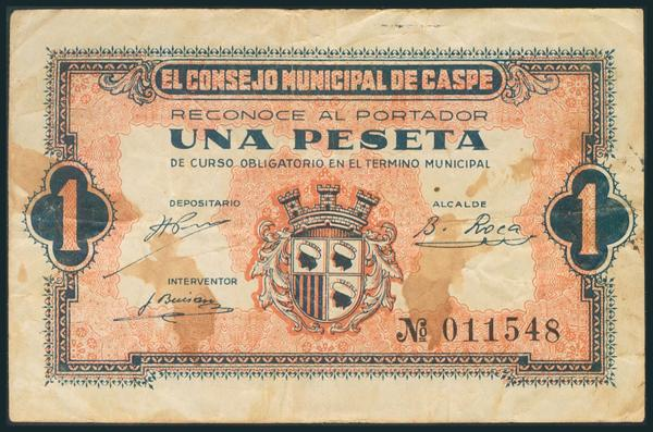 553 - Billetes Guerra Civil