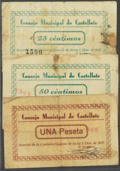 554 - Billetes Guerra Civil