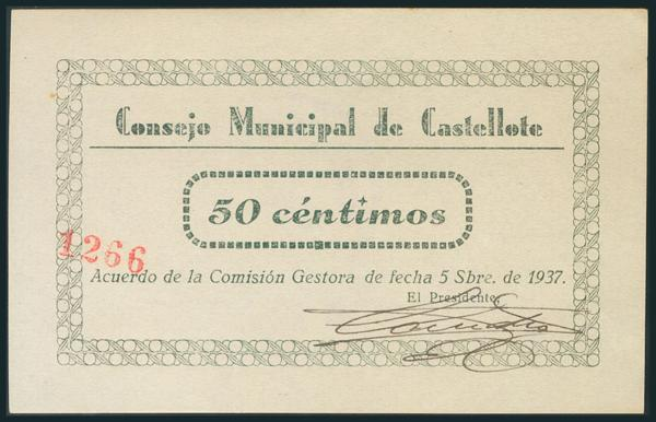555 - Billetes Guerra Civil