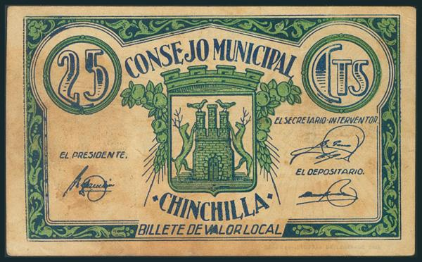 557 - Billetes Guerra Civil