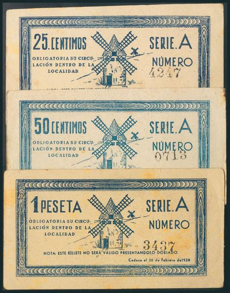 559 - Billetes Guerra Civil
