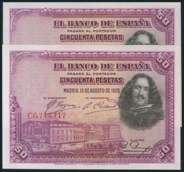 55 - Billetes Españoles