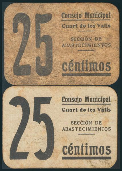 560 - Billetes Guerra Civil