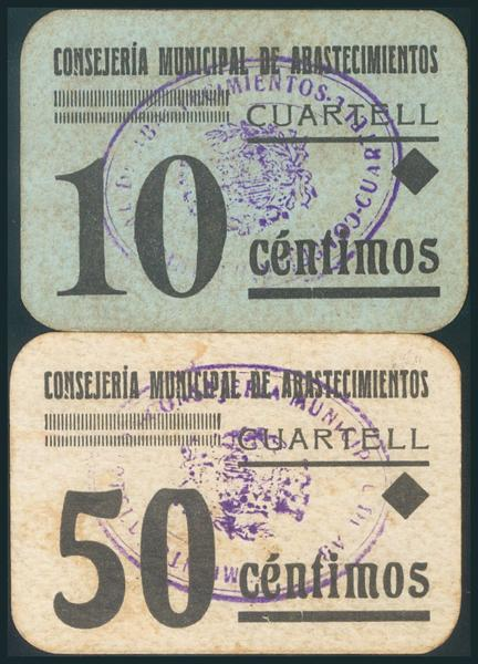 561 - Billetes Guerra Civil