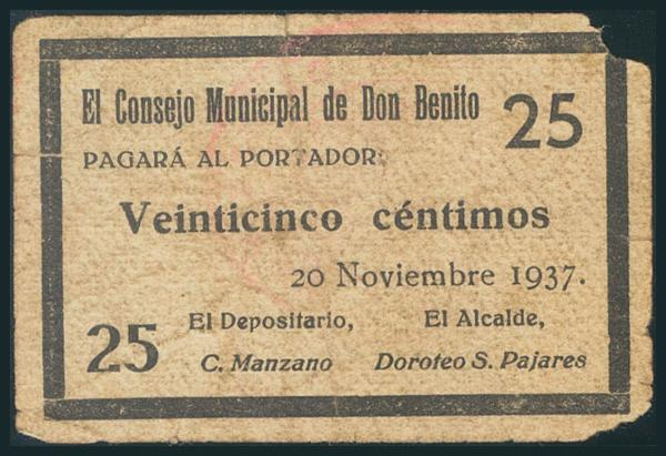 562 - Billetes Guerra Civil