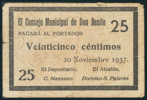 563 - Billetes Guerra Civil