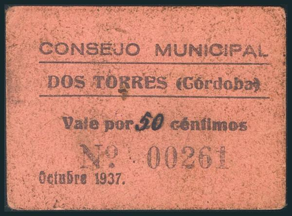 564 - Billetes Guerra Civil