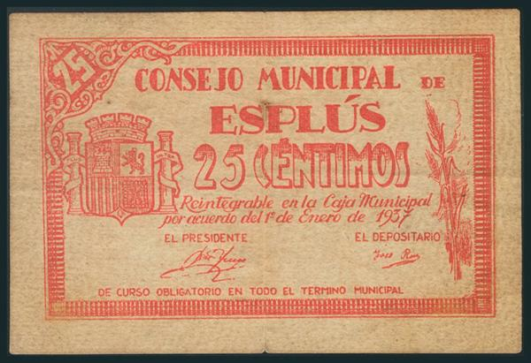 567 - Billetes Guerra Civil