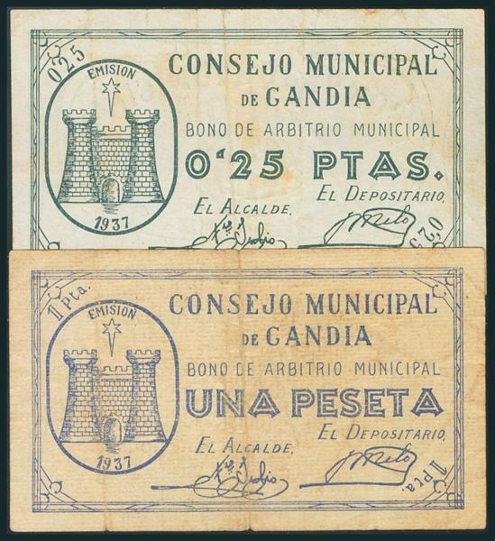 569 - Billetes Guerra Civil