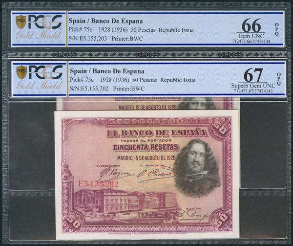 56 - Billetes Españoles