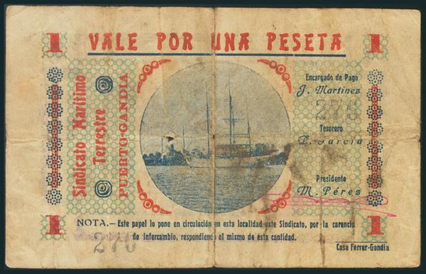570 - Billetes Guerra Civil
