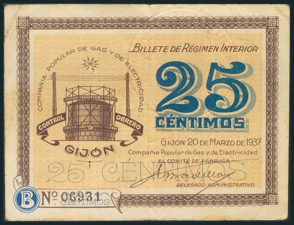 571 - Billetes Guerra Civil