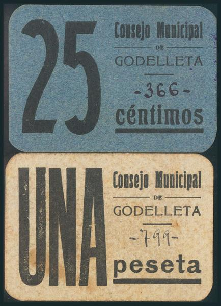 574 - Billetes Guerra Civil