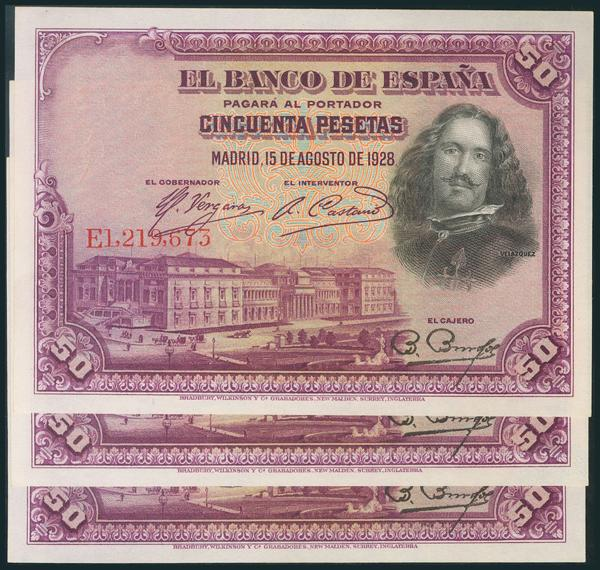57 - Billetes Españoles