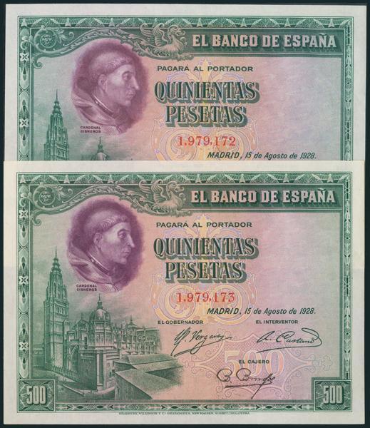 61 - Billetes Españoles