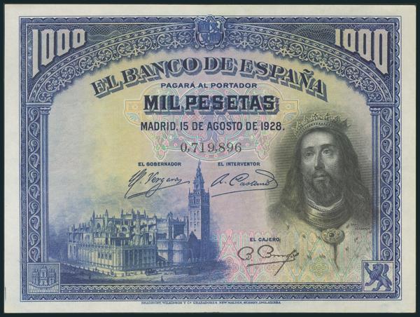 65 - Billetes Españoles