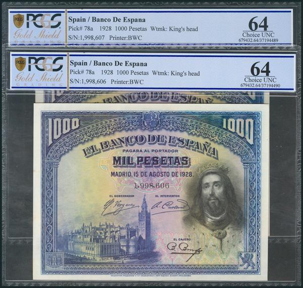 68 - Billetes Españoles