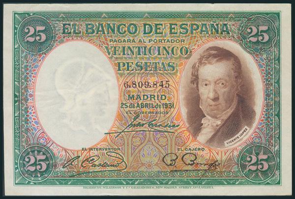 70 - Billetes Españoles