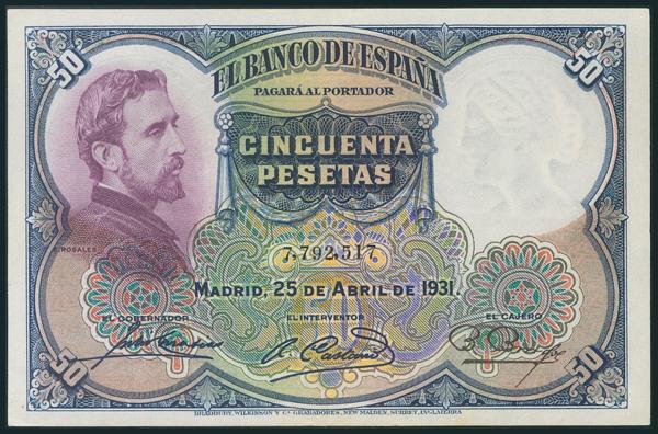 73 - Billetes Españoles