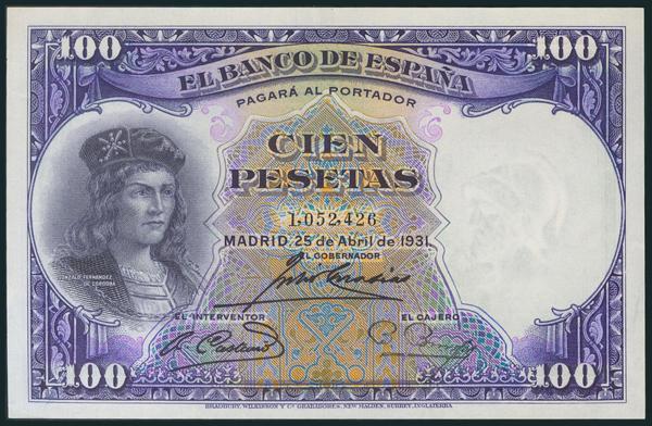 75 - Billetes Españoles