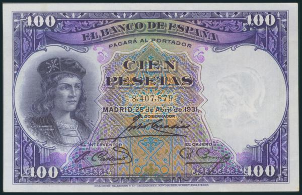 76 - Billetes Españoles