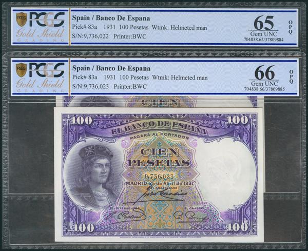 79 - Billetes Españoles