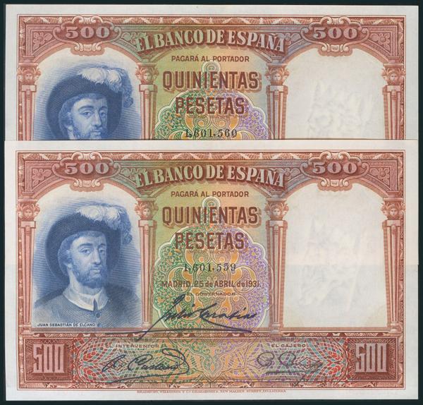 80 - Billetes Españoles