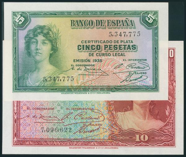 84 - Billetes Españoles